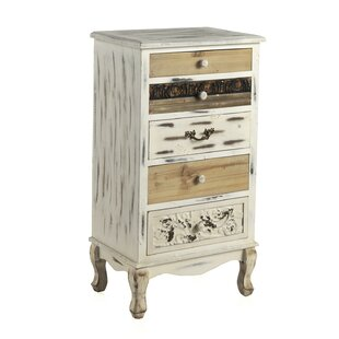 Review Frisbie 5 Drawer Chest
