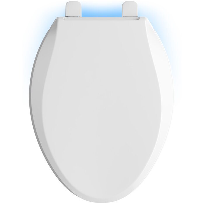 Stupendous Cachet Nightlight Quiet Close With Grip Tight Elongated Front Toilet Seat Camellatalisay Diy Chair Ideas Camellatalisaycom