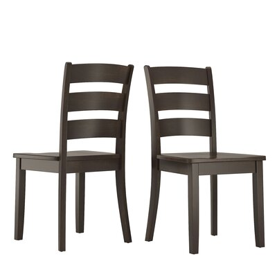 Alverson Solid Wood Dining Chair by August Grove