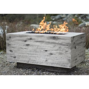Catalina Concrete Fire Pit by The Outdoor Plus