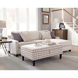 Sectional with Storage Ott..