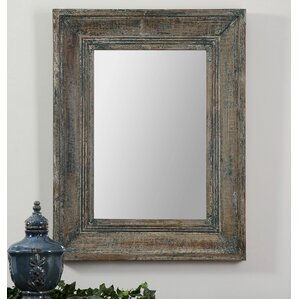 Wood Wall Mirror rustic wall mirrors you'll love | wayfair