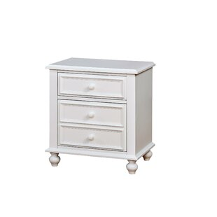 Reinoso 2 Drawer Nightstand by Harriet Bee