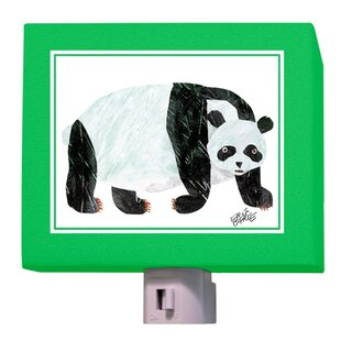 Oopsy Daisy Eric Carle's Panda Bear Night Light