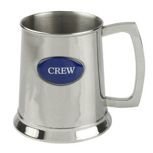Cian 500ml Stainless Steel Beer Mug By Longshore Tides