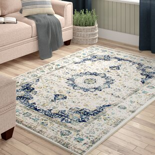 Price comparison Hosking Doylestown Blue Area Rug by Laurel Foundry Modern Farmhouse