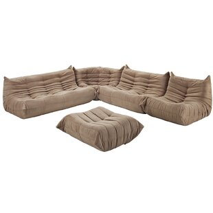 Waverunner 5 Piece Living Room Set by Modway - Discount Living ...