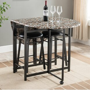 Starling 3 Piece Pub Table Set Winston Porter