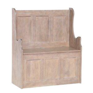 Flurbank Chalky mit Stauraum aus Holz von Hazelwood Home