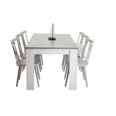 6 Seater Dining Table Sets You Ll Love Wayfair Co Uk