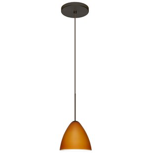 Besa Lighting Mia 1-Light Cone Pendant