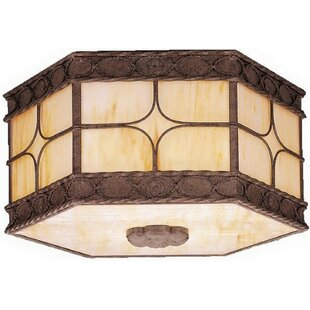 Chilmark 3-Light Outdoor Flush Mount