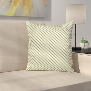 on the Bias Stripes Cushion Pillow Cover