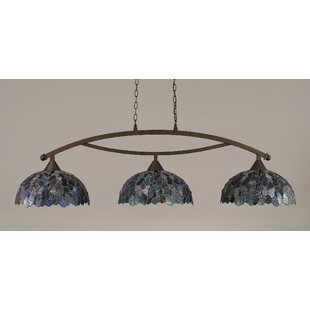 Astoria Grand Austinburg 3-Light Billiard Light