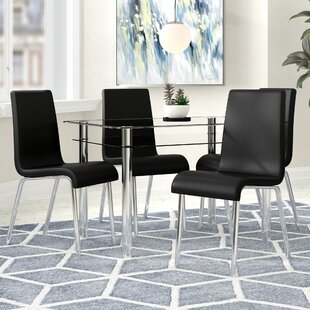 Harlequin Dining Set With 4 Chairs By Home & Haus