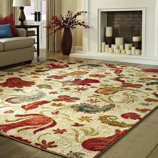 Area Rugs andover mills virginia beige area rug & reviews | wayfair