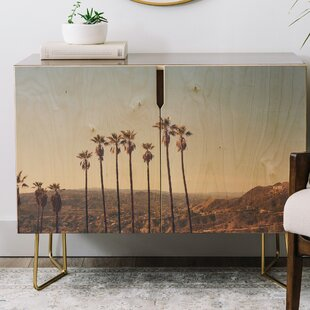 Catherine McDonald Hollywood Hills Credenza by East Urban Home