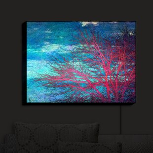 Shopping for Abstract Tree II' Print on Fabric By Brayden Studio
