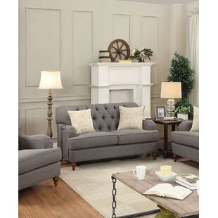 Low priced Diep Loveseat with Pillow by Darby Home Co Reviews (2019) & Buyer's Guide
