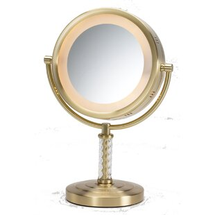 Dual Sided Halo Lighted Vanity Mirror Jerdon