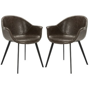 17 Stories Mariana Arm Chair (Set of 2)