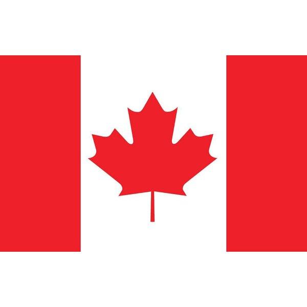 Free Canada /& USA Shipping Large 3/' x 5/' High Quality Nylon Canadian Flag