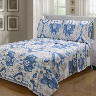 Kanarick 300 Thread Count 100% Egyptian-Quality Cotton Sheet Set