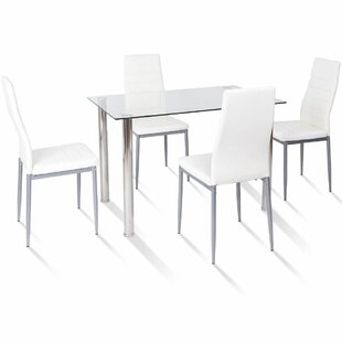 Travon 5 Piece Dining Set Orren Ellis