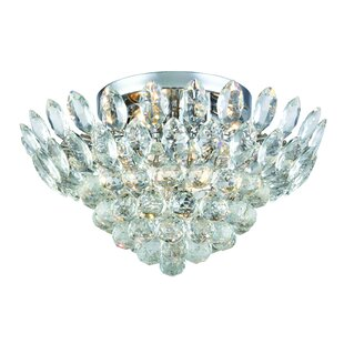 Rosdorf Park Glendora 5-Light Flush Mount