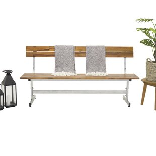 Lynd Teak Bench By Sol 72 Outdoor
