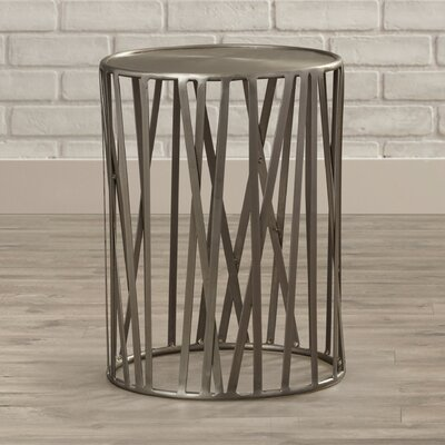 Merveilleux Kori Drum End Table