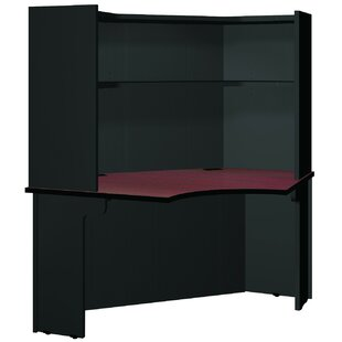 Modular Corner Desk With Hutch by Ironwood Sale