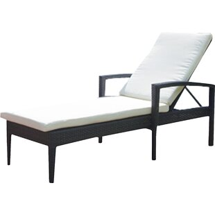 Lasater Chaise Lounge with Cushion