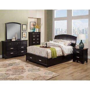 Dimas Platform Configurable Bedroom Set