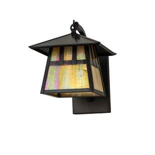Wysocki 1-Light Outdoor Wall Lantern By Loon Peak Outdoor Lighting