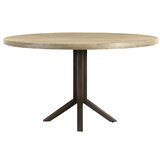 Capps Solid Oak Dining Table by Loon Peak®