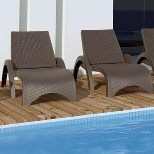 Kassiopeia Sun Lounger Set (Set of 2) by Mercury Row