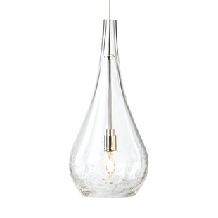Wrought Studio Morwenna 1-Light Teardrop Pendant