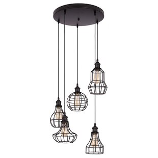 Mont Lancy 5-Light Pendant by Williston Forge