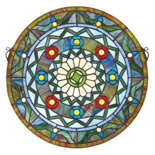 Kaleidoscope Stained Glass Window