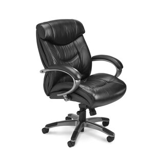 Mayline Group Series 200 Leather Executive Chair