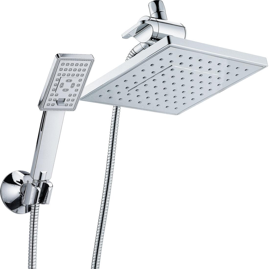 Shower Head Hand Shower Shower Head Chrome Shower Head Rain Shower Water Saving