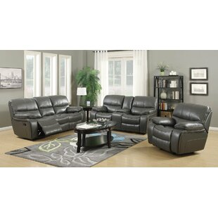 Pascal Reclining Configurable Living Room Set