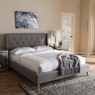Wiltshire Upholstered Platform Bed By Mikado Living