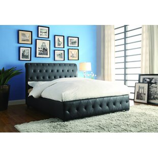 Charlton Home Richardson Upholstered Panel Bed