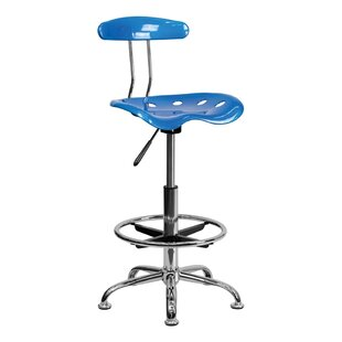 Tractor Adjustable Height Swivel Bar Stool