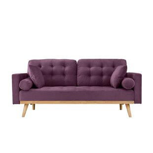 Comparison Seagle Mid Century Modern Sofa by Wrought Studio Reviews (2019) & Buyer's Guide