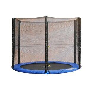 244cm Round Trampoline Net Using 6 Poles By Freeport Park