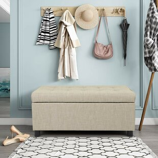 Caryl Rectangular Tufted Storage Ottoman by Winston Porter