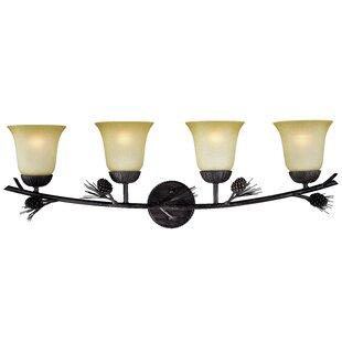 Stricklin 4-Light Vanity Light by Millwood Pines